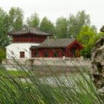 Europäische und asiatische Gärten