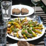 Schöner Sonntag oder Mango-Mozarella-Salat