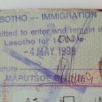 Zeitreise nach Lesotho